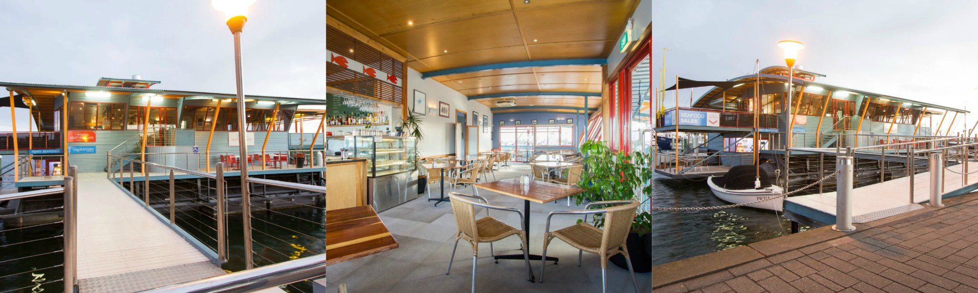 Floating Seafood Cafe + Freehold T/over $1.0-$1.5 Million p.a! (Our Ref: V1602)
